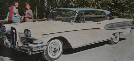 Ford meg ezt dobta be Edsel-memorandumnak. A pinamaszkosat