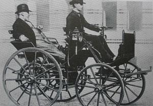 Daimler csak alkotni szeretett, a vezetéstől félt