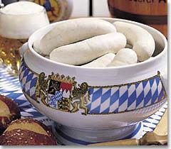 Egy tál weißwurst