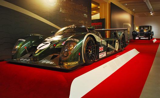 Az utóbbi években ez volt az utolsó nem-Audi Le Mans-győztes. Bentley Speed 8