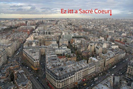 Ha jól emlékszem IV. Henrik mondta: Párizs megér egy misét. Pláne a 24. emeletről!