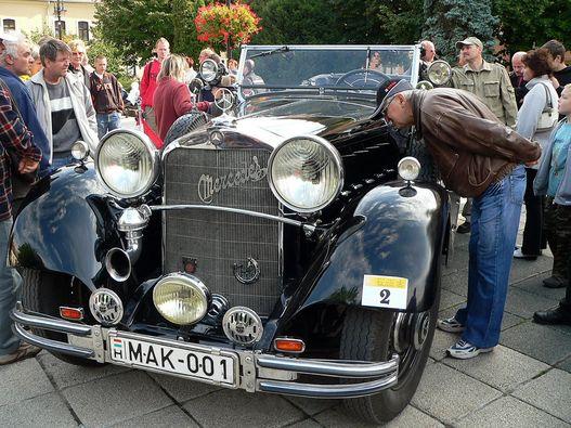 Mercedes-Benz Nürnburg 500, 1933-ból