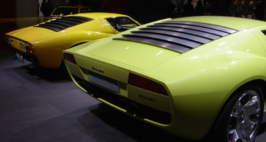 Lamborghini Miura, régi és új