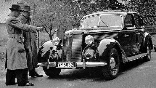 Valószínűleg az egyik utolsó ős-Audi 1939-ből