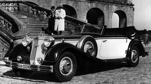 Sokan még Németországban sem hitték, hogy lesz háború: Horch 853-as 1937-ből
