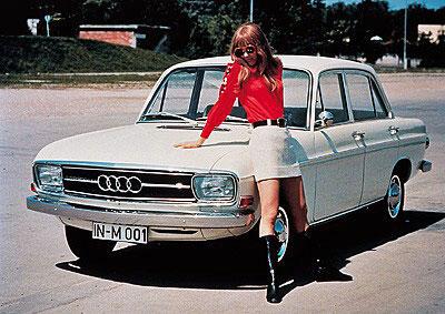 Audi 60, az első önálló újkori típus