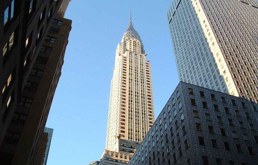 A Chrysler new-yorki épülete, jelzáloggal jócskán megterhelve