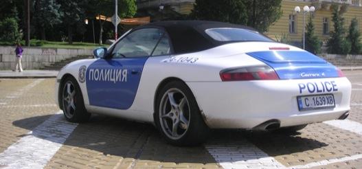 A Porsche 911 rendőrautónak is használható