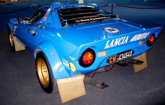 Félelmetes hangja lehet (Lancia Stratos)