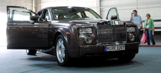 Légellenállás, muhaha (Rolls-Royce Phantom)
