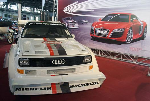 Audi Quattro S1 Pikes Peak. Walter Röhrl rekordot döntött vele 1987-ben