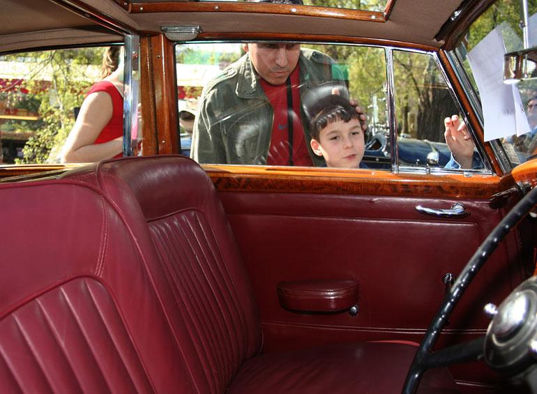 Ez a Rolls-Royce a nagyapád lehetne kisfiam. Vagy inkább a dédapád