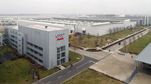 5800 alkalmazottnak ad munkát a győri Audi gyár
