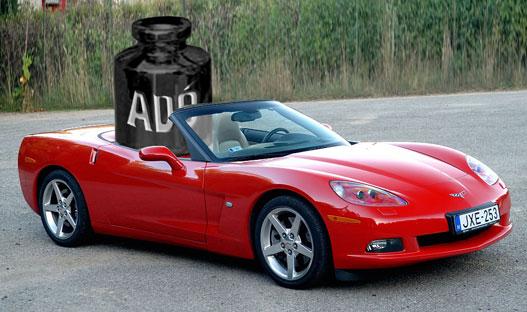 Corvette - 2006, +71 448 Ft