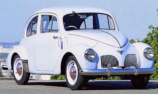 Toyota SA az első háború utáni személyautó