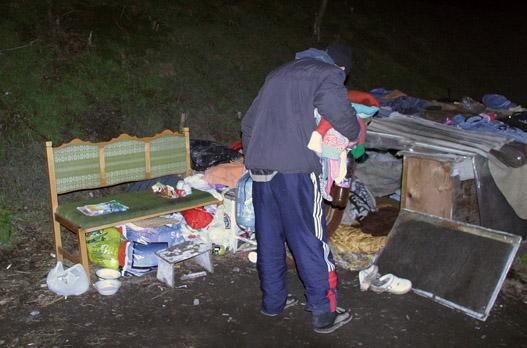 Imre, a művész úr aludni tér