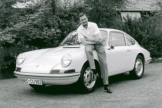 1963-ban debütált a Butzi által megálmodott 911-es