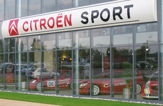 A Citroën Sport központ, Versailles-Satoryban