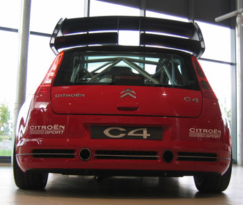 C4 WRC demóautó
