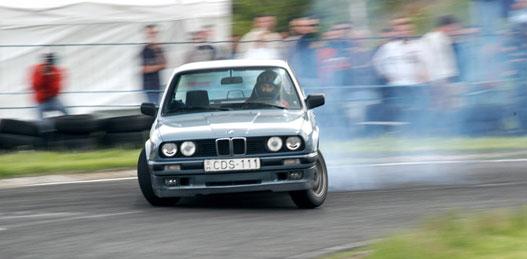 Szeles Adorján BMW 328i.