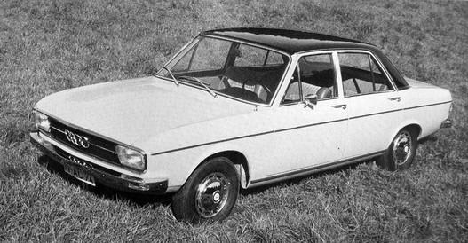 Audi 100, 1968