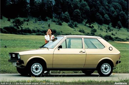 Audi 50, amiből a Polo lett