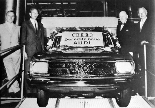 Ez konkrétan az első autó, amire ismét feltették az Audi-nevet
