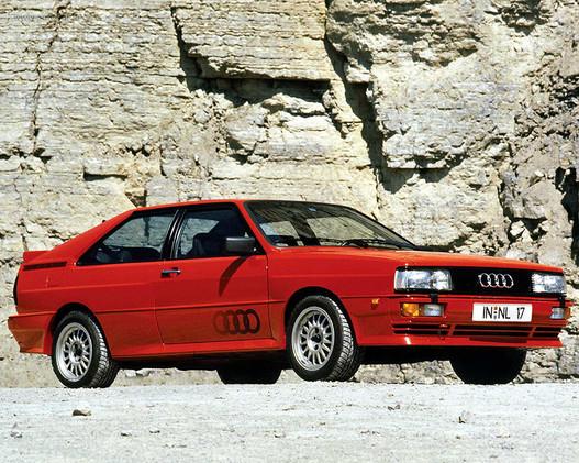 Audi Quattro civilben