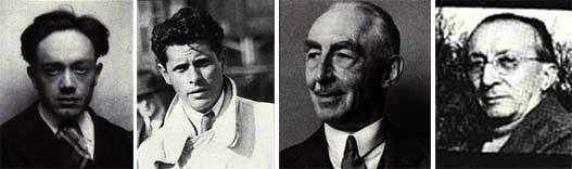Flaminio Bertoni, André Lefébvre, Pierre-Jules Boulangér, Paul Mages