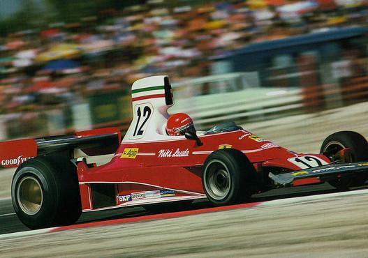 Niki Lauda és a 312 T