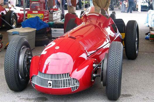 Aki korai Ferrarit akar látni - például egy ilyen 159-est -, menjen Goodwoodba