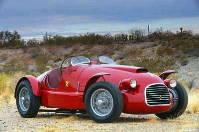 Ferrari 166 SPort Corsa, pályára