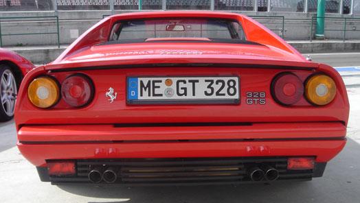 A 8 hengeres 328 GTB-S is Pininfarina