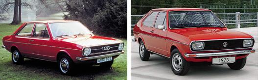 Ez volt a VW első sikeres orrmotoros modellje: Audi 80 átkalapált fenékkel