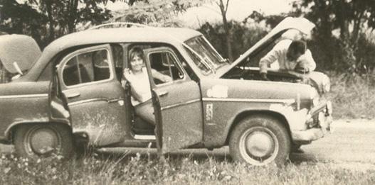 Fater autót szerel már 1967 környékén is