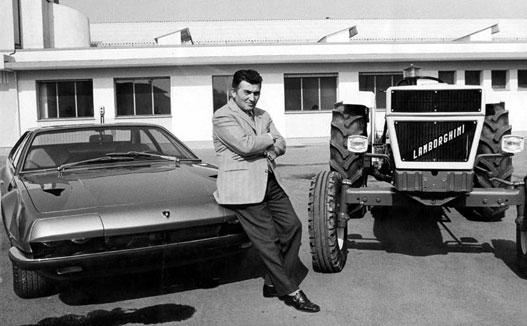 Ferruccio Lamborghini és a Lamborghinik