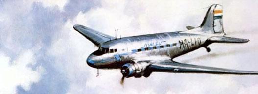 A Malév utasszállítói 1947-től 1961-ig