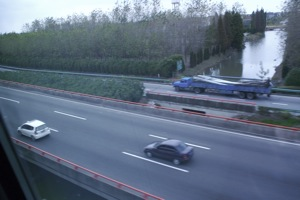 Transrapid vs. kocsik: 1-0
