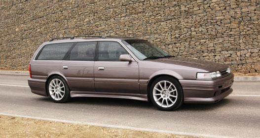 Range Rover Austin >> Totalcar - Magazin - Tuning: Mazda 626 Station Wagon