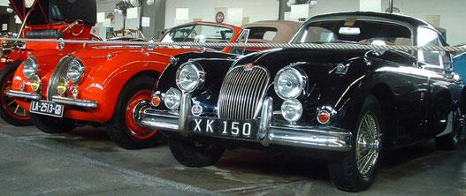 Jaguar XK 120 és Jaguar XK 150