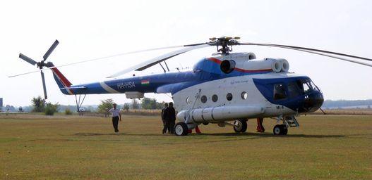 Az 1970-es tiszai árvíznél 4500 embert mentettek ki ilyen Mi-8-as helikopterekkel