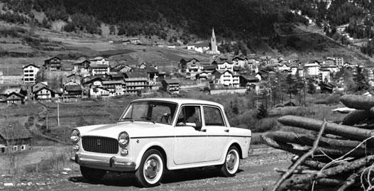 Ez volt a 124-előd 1100-as Fiat