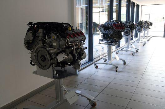 A győri Audi-motorok, sorban