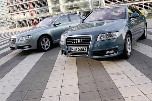 Münchenből Ingolstadba és vissza A4 e-Modellekkel és A6-osokkal közlekedtünk