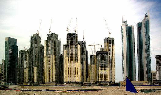 Épülő kereskedelmi szabadzóna Dubaiban