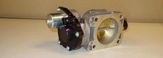 Elektromechanikus működtetesű fojtószelep