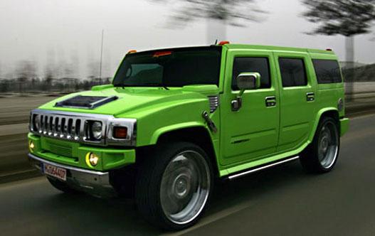 """A """"zöld"""" Hummer"""