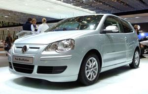 Egyelőre a világ legkisebb emissziójú autója a Polo BlueMotion