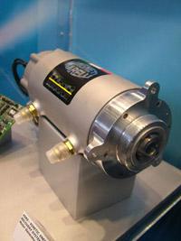A Marelli-KERS vízhűtéses elektromotorja