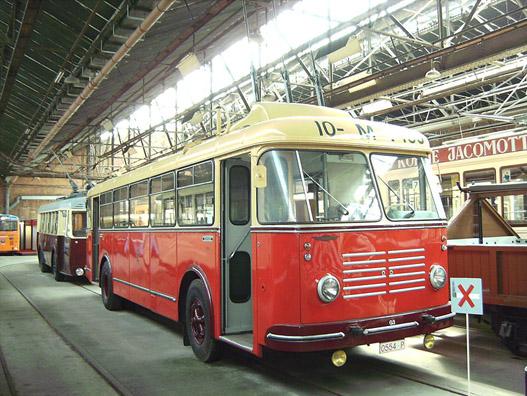 Girobusz múzeumban